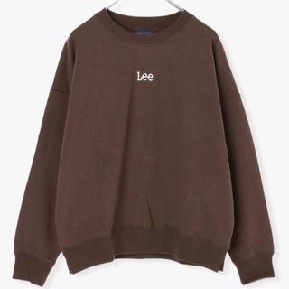 Lee - ☆新品leeロゴ刺繍トレーナー☆
