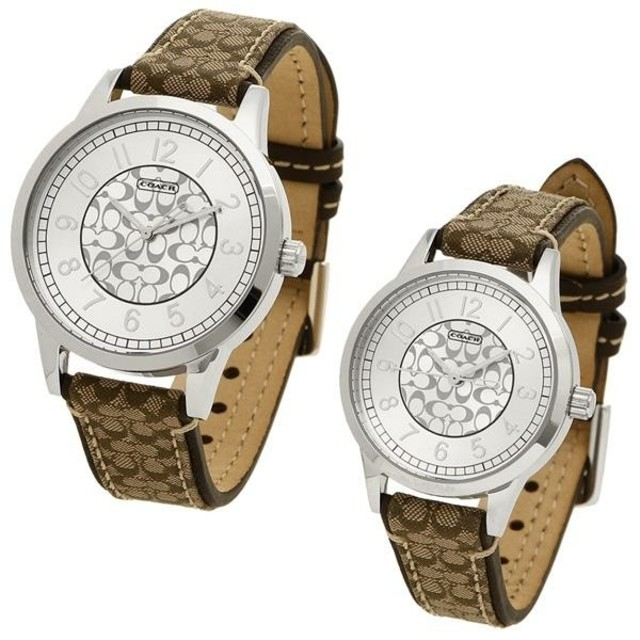 COACH - COACH コーチ 腕時計 ペアウォッチ 14000042の通販