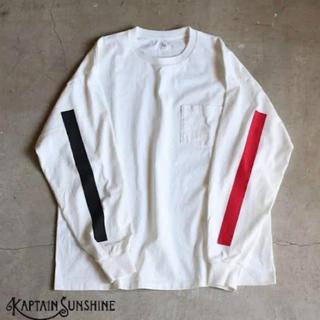 KAPTAIN SUNSHINE ロングスリーブカットソー サイズ40(Tシャツ/カットソー(七分/長袖))