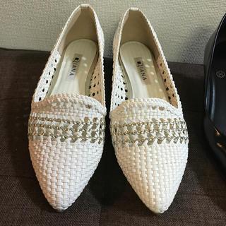 ダイアナ(DIANA)のDIANA  新品同様  ローヒール(ローファー/革靴)