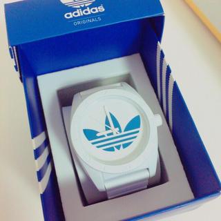 アディダス(adidas)のadidas 時計 青(腕時計(アナログ))
