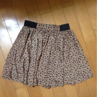 ローリーズファーム(LOWRYS FARM)のローリーズファーム レオパード柄スカート(ミニスカート)