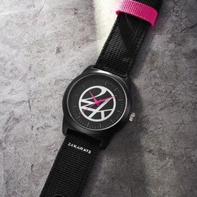 24karats - 24KARATS ブラックミリタリー腕時計 smart 2019年 10月 付録の通販