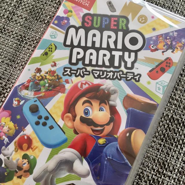 Nintendo Switch(ニンテンドースイッチ)の新品!Switch スーパーマリオパーティ ソフト エンタメ/ホビーのゲームソフト/ゲーム機本体(家庭用ゲームソフト)の商品写真