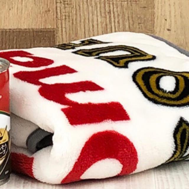 KALDI(カルディ)のキャンベルスープ・ブランケット キッズ/ベビー/マタニティのこども用ファッション小物(おくるみ/ブランケット)の商品写真