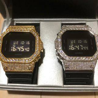 G-SHOCK 新品 未使用 Gショック カスタム ラインストーン ジルコニア(腕時計(デジタル))