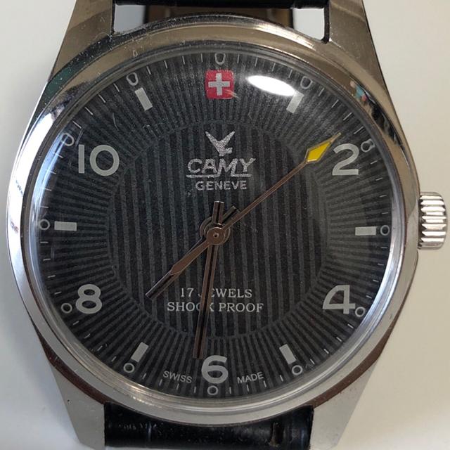ORIS - 大幅値下げ!【激レア美品】CAMY 70's ヴィンテージ腕時計 手巻き式の通販