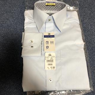 アオキ(AOKI)のAOKI LES MUES ワイシャツ 水色 S37-82 STL(シャツ)