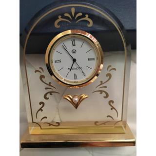 ミキモト(MIKIMOTO)のMIKIMOTO パール付き置き時計(置時計)