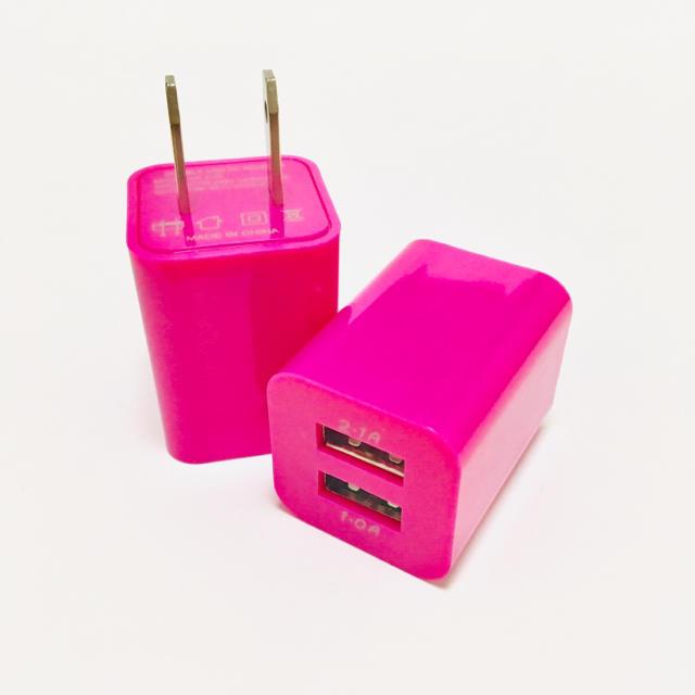 充電器 USB アダプター スマホ/家電/カメラのスマホアクセサリー(iPhoneケース)の商品写真