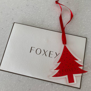 フォクシー(FOXEY)のFOXEY クリスマスのオーナメント(ノベルティグッズ)