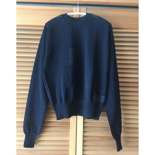 コモリ(COMOLI)のauralee   baby mohair knit オーラリー モヘアニット(ニット/セーター)