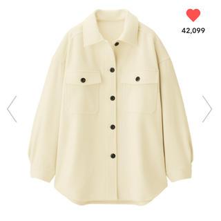GU - GU WOMEN  今季オーバーサイズシャツジャケット
