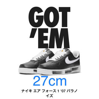 ナイキ(NIKE)のNIKE AIR FORCE 1 PARA NOISE 27cm(スニーカー)