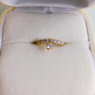 カシケイ コデラトモコ K18ダイアモンドリング(リング(指輪))