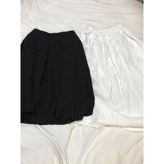 ユニクロ(UNIQLO)のユニクロ ジーユー スカートセット(ひざ丈スカート)