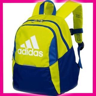 アディダス(adidas)のアディダス 青 黄 サッカー ボールバッグ リュック ボール専用バックパック(その他)