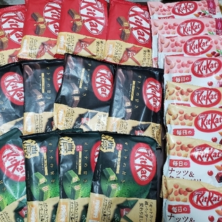 ネスレ(Nestle)のネスレ キットカット5種類 × 4袋〈計20袋セット〉(菓子/デザート)