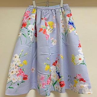 チェスティ(Chesty)の難あり格安★チェスティフラワーバードスカートサイズ1(ひざ丈スカート)