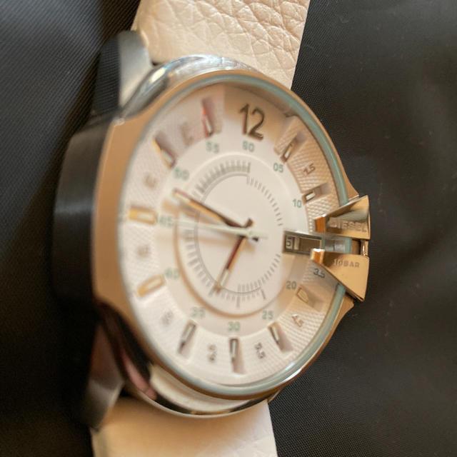 DIESEL - ディーゼル 腕時計 マスターチーフ ホワイトの通販