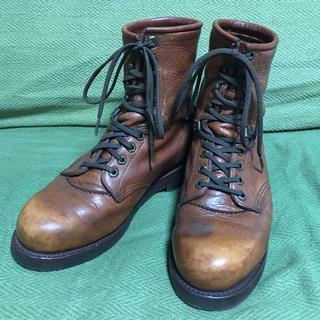 チペワ(CHIPPEWA)のチペワ CHIPPEWA ロガーブーツ US8 ブラウン(ブーツ)
