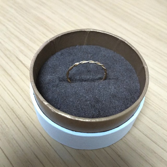 K10 リング 華奢 10号 レディースのアクセサリー(リング(指輪))の商品写真