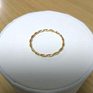 K10 リング 華奢 10号(リング(指輪))