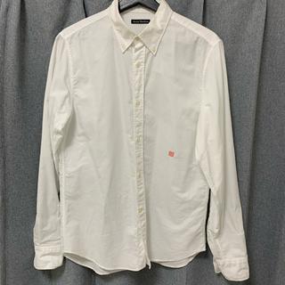 アクネ(ACNE)のアクネストゥディオズ 白シャツ シャツ(シャツ/ブラウス(長袖/七分))