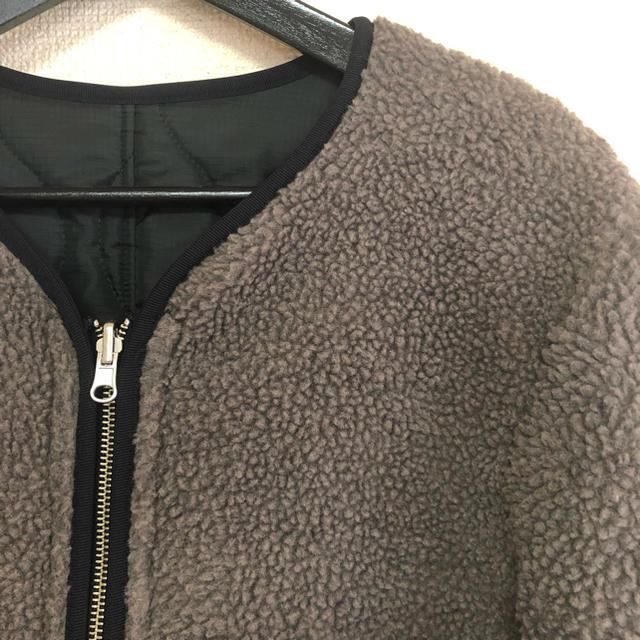 RAGEBLUE(レイジブルー)の値下げ RAGE BLUE☆ボアリバーシブルブルゾン メンズのジャケット/アウター(ブルゾン)の商品写真