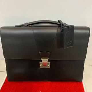 カルティエ(Cartier)のカルティエ ブリーフケース メンズ 黒(ビジネスバッグ)