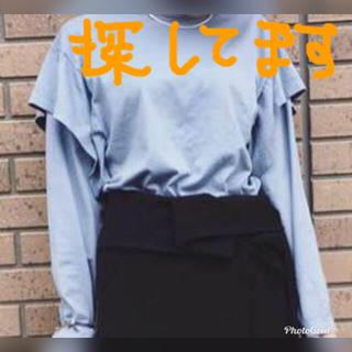 フミカウチダ FUMIKA UCHIDA ダブルスリーブ ブルー (カットソー(長袖/七分))