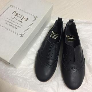 ルタロン(Le Talon)のRecipe スリッポン ブラック サイズ24(ローファー/革靴)