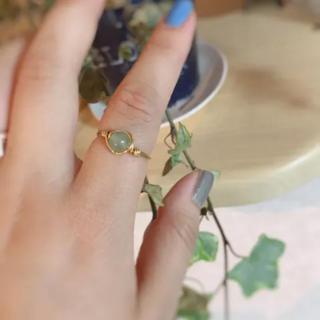 【ハンドメイド】天然石リング(リング(指輪))