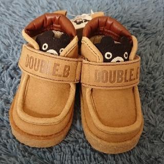 ダブルビー(DOUBLE.B)の新品 ダブルB 靴 12,5cm(スニーカー)