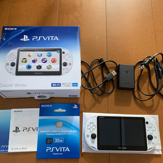 プレイステーションヴィータ(PlayStation Vita)のSONY PlayStationVITA 本体 メモリーカード32GB(携帯用ゲーム機本体)
