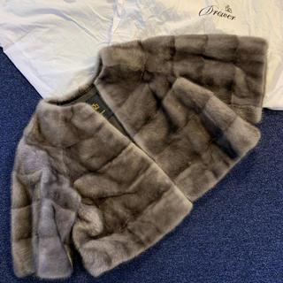 ドゥロワー(Drawer)の美品 ドゥロワー ミンク ファー ジャケット コート(毛皮/ファーコート)