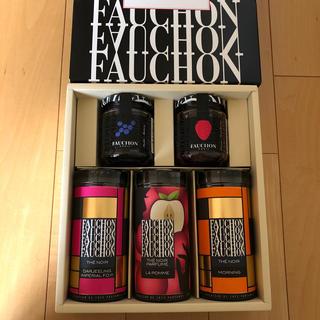タカシマヤ(髙島屋)のFAUCHON ジャム&紅茶セット(茶)