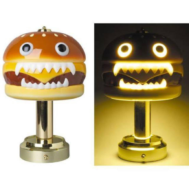 UNDERCOVER(アンダーカバー)のUNDERCOVER HAMBURGER LAMP Yellow  エンタメ/ホビーのフィギュア(その他)の商品写真