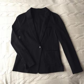ステュディオス(STUDIOUS)のSTUDIOUS ステュディオス テーラードジャケット 黒 ブラック(テーラードジャケット)