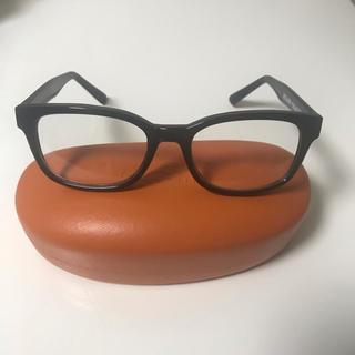 ビームス(BEAMS)のbeams黒縁メガネ度なし(サングラス/メガネ)