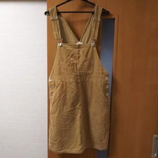 パーリッシィ(PAR ICI)のPAR ICI コーデュロイ サロペットスカート(サロペット/オーバーオール)