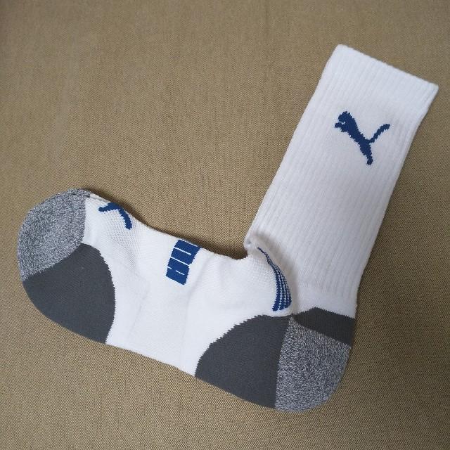 PUMA(プーマ)のPUMA 靴下 男性用(新品・未使用)ソックス メンズ スポーツ/アウトドアのゴルフ(ウエア)の商品写真