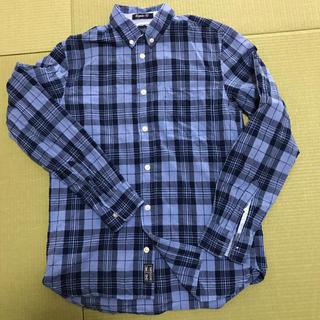 エイチアンドエム(H&M)のH&M  ボーイズチェックボタンダウンシャツ(ブラウス)