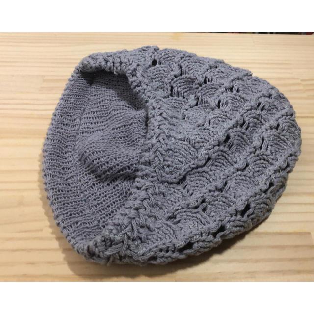 CECIL McBEE(セシルマクビー)のニットベレー帽 レディースの帽子(ハンチング/ベレー帽)の商品写真