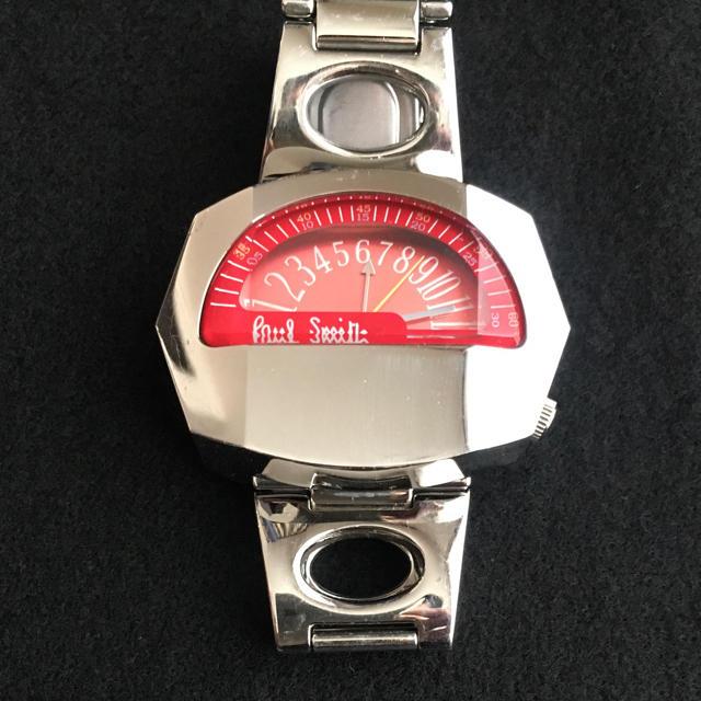 Paul Smith - 美品 ポールスミス Paul Smith 腕時計 鉄仮面 電池切れ ジャンク赤の通販