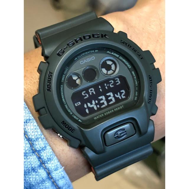 G-SHOCK - G-SHOCK/カーキ/DW-6900/オレンジ/ミリタリー/ユニセックス/美品の通販