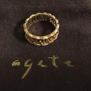 アガット(agete)の⭐︎アガット 限定リング7号⭐︎まひろん様専用⭐︎(リング(指輪))