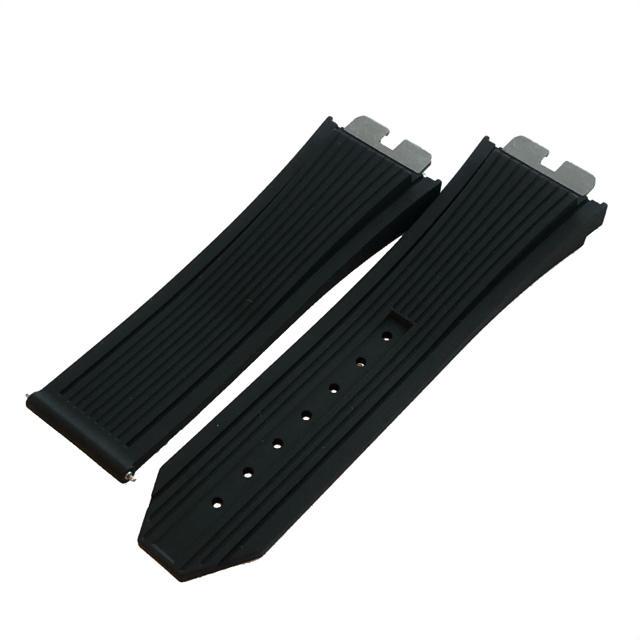 ガガミラノ 40mm メンズ | HUBLOT - ウブロ ビックバンウニコ 411用 ブラックラバー 純正ストラップ 新品の通販 by s-shop