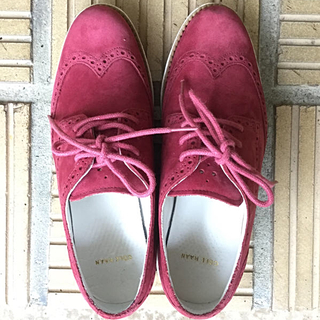 コールハーン(Cole Haan)のコールハーン ルナグランド ウィングチップ  ナイキルナソール(ローファー/革靴)
