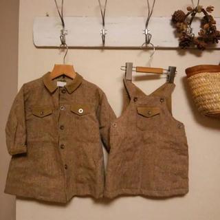 タルティーヌ エ ショコラ(Tartine et Chocolat)のタルティーヌエショコラ コート ジャンパースカート(ジャケット/コート)